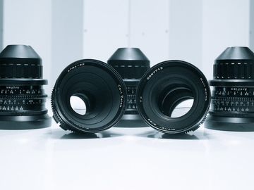 Rent: Zeiss Standard Speed Lens Set