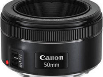 Rent: Canon EF 50mm