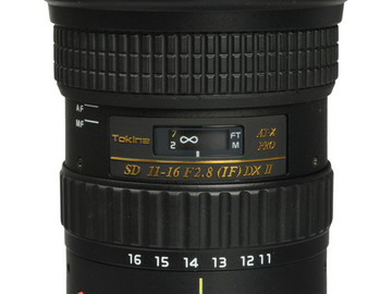 Rent: Tokina AT-X 116 PRO DX-II 11-16mm f/2.8 Lens for Canon M