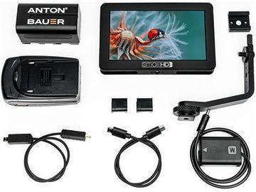 SmallHD HD 5-in On-Camera Monitor w Battery, Hood, Tilt Arm