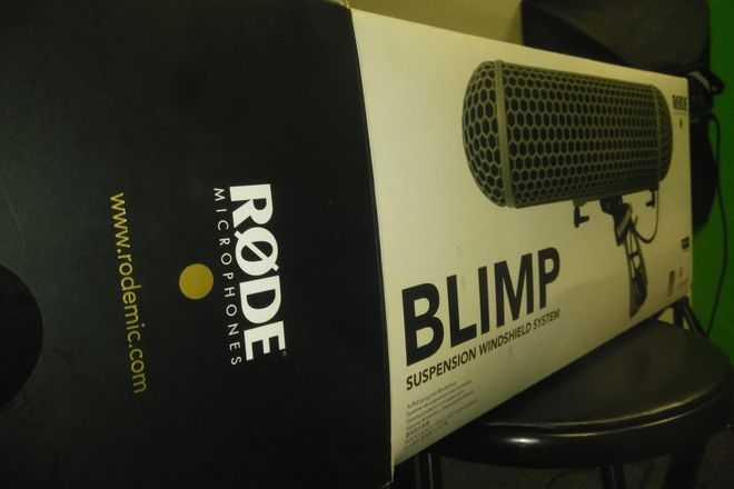 Rode Blimp Windshield and Rycote Shock Mount