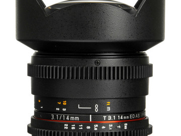 Rent: Rokinon 14mm t/3.1 Cine Lens