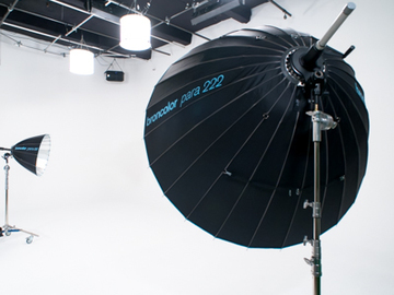 Rent: Civic Center Studios - Studio 01 - White Cyc/Green Screen