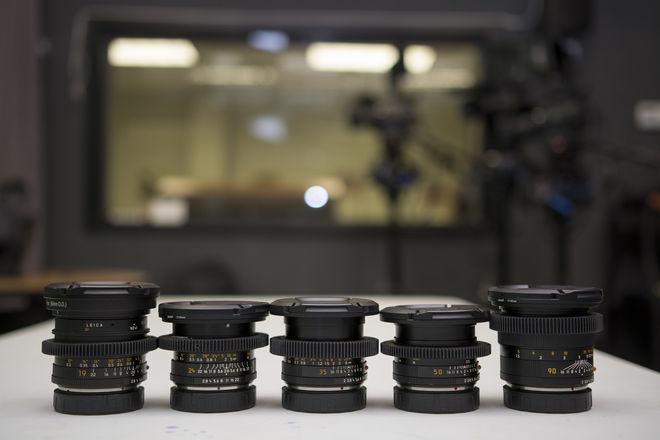Leica R Lens Set RED NIKON MOUNT FREE!