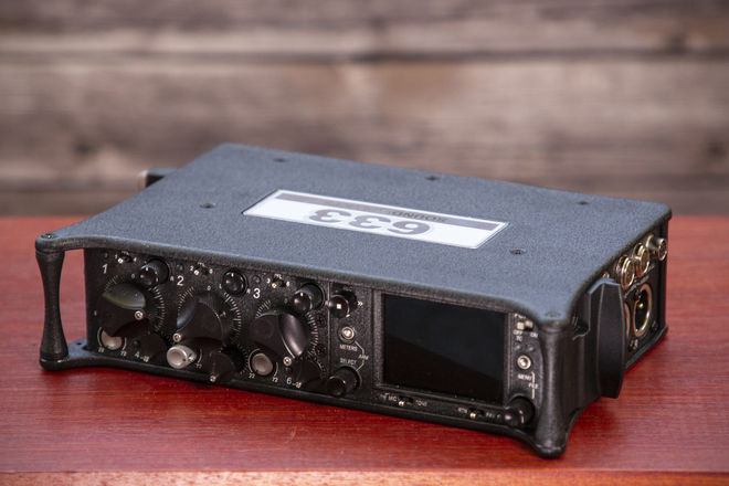 Sound Devices 633 Recorder (Optional Sennhesier Mics)