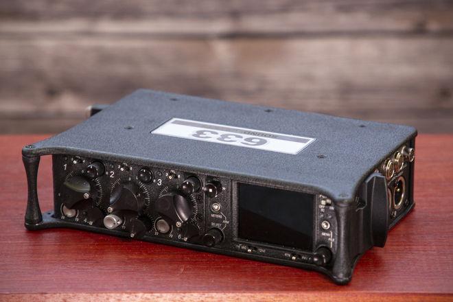 Sound Devices 633 Recorder (Optional Sennhesier Mics)