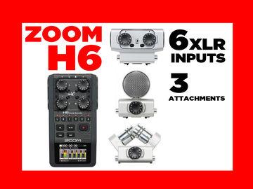 Rent: Zoom H6 Handy Audio Recorder