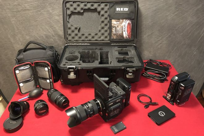 RED Raven Camera Package