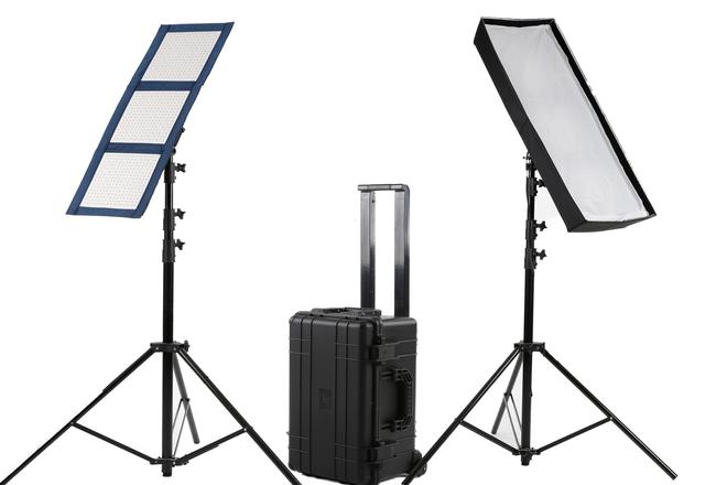Intellytech - 2 Light Kit - LiteCloth LC-120 - BiColor LED