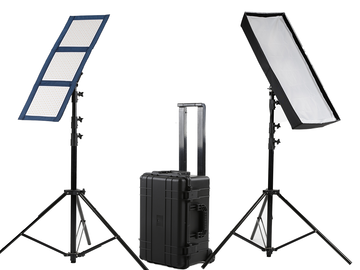 Rent: Intellytech - 2 Light Kit - LiteCloth LC-120 - BiColor LED