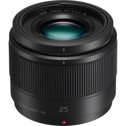 Panasonic 25mm f1.7 lens