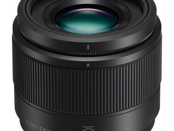 Rent: Panasonic 25mm f1.7 lens