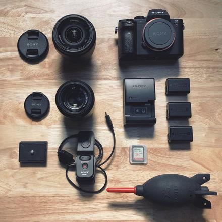 Sony Alpha A7RII - Photo/Video Kit (Wide angle + Prime lens)
