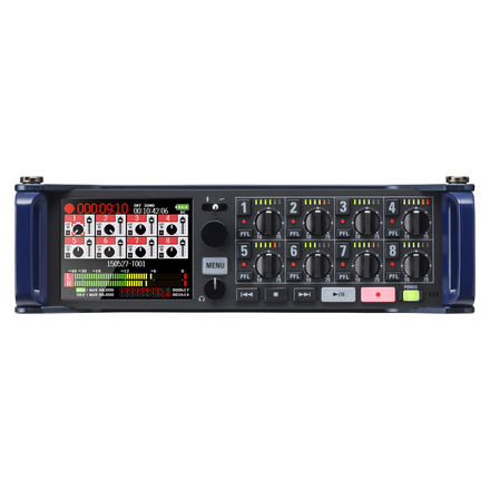 Zoom F8 Package 4x Wireless, F-Control, MKH60, AT4053B