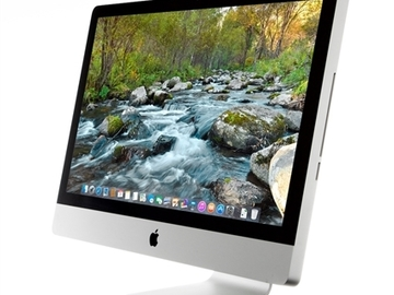 "Rent: iMac 27"" 2011 model w/ 32GB RAM & 1TB hard drive"