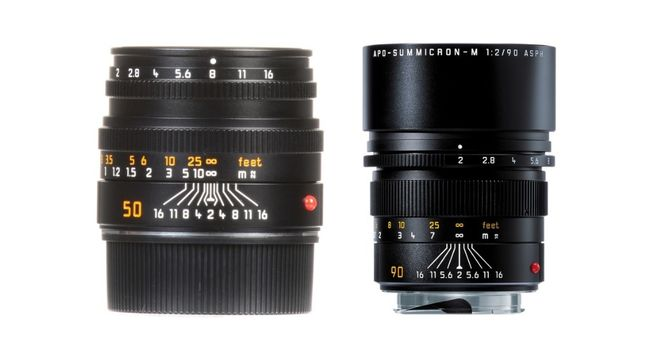 Leica R Lens Kit 19mm f2.8/ 50mm f2/ 90mm f2