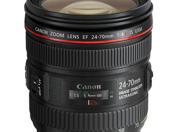 Rent: Canon EF 24-70mm f/4L IS USM Lens