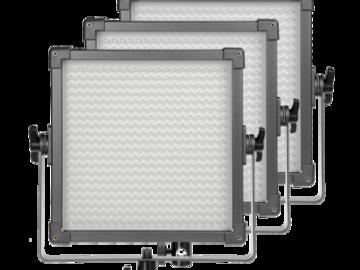 Rent: 3 X LED panel 2 X daylight 1 bicolor F&V