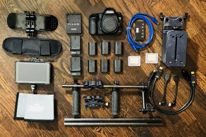 Canon EOS 5D Mark III package #2 + Zeiss Prime Lens Set