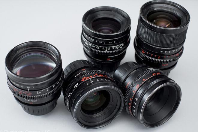 Zeiss Super Speeds T1.3 - 18, 25, 35, 50, & 85mm PL Mount