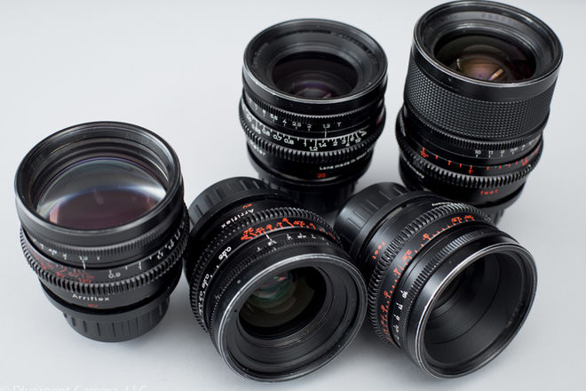 Zeiss Super Speeds T1.3 - 18, 25, 35, 50, & 85mm PL Mount
