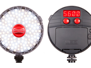 Rent: Rotolight NEO On-Camera LED Light
