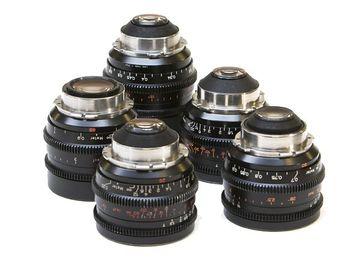 Zeiss Standard Speeds T2.1 - 10, 12, 14, 100, & 135mm