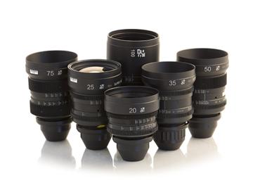 Rent: Super Baltars TLS Rehoused Lenses -20, 25, 35, 50, 75, & 100