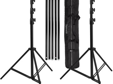 Rent: Backdrop Stand Kit 5' x 7' 1 of 2