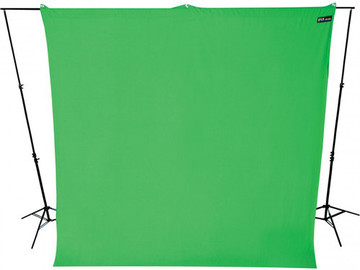 Rent: Green Screen Backdrop Wrinkle Resistant 9 x 10 Feet