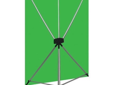 Rent: Green Screen Backdrop Wrinkle Resistant 5 x 7 Feet