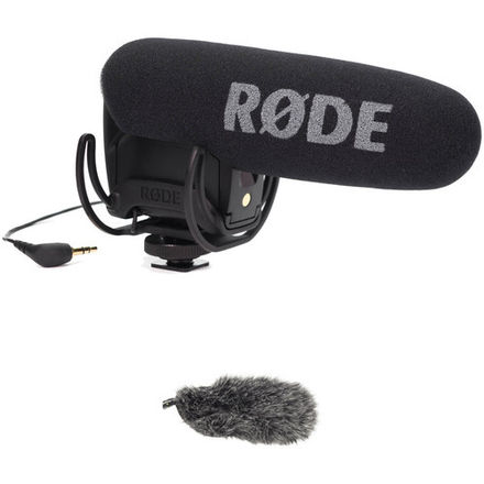 Rode VideoMic Pro with Dead-Cat Windshield
