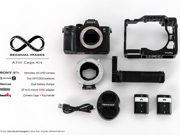 Rent: Sony a7iii Metabones with Cage