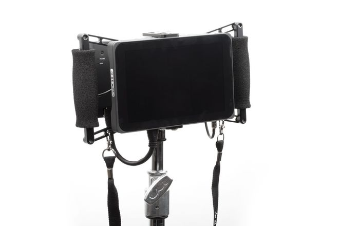 DP7 Monitor w/ Paralinx 2,000' Wireless SDI/HDMI and Cage