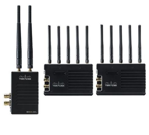 Teradek Bolt 3,000 Dual Receiver Wireless System 1:2