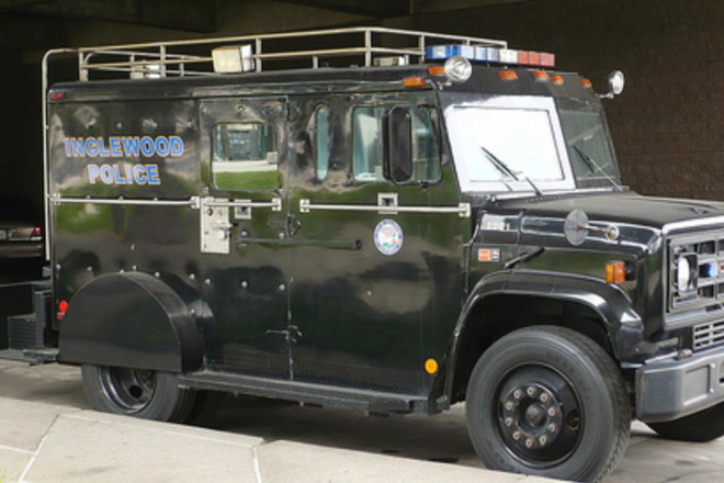 real gmc  armored swat  truck