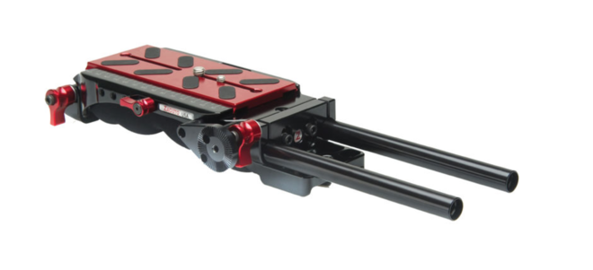 Zacuto VCT Pro Universal Baseplate (Fits ALL Cameras)