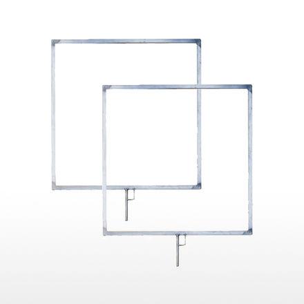 "(2 PCS) 2x2 Empty Gel Frame 24""x24"""