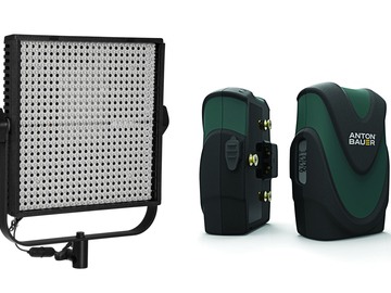 Rent: Litepanel 1X1 Bi-Color LS LED w/ 2 Anton Bauer Batteries