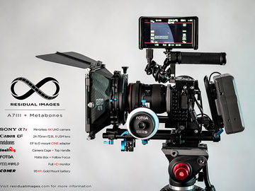 Rent: Sony a7iii with Metabones and matte box kit