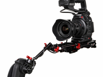 Rent: Zacuto Universal Plate with Canon Grip Relocator