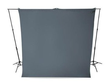 Rent: Neutral Gray Backdrop Wrinkle Resistant 9 x 10 Feet 1 of 2