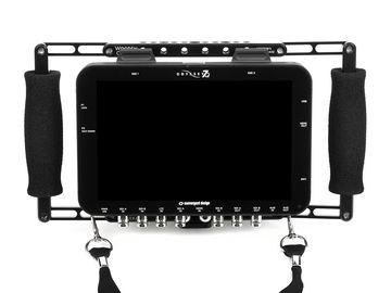 Rent: Wooden Camera Director's Monitor Cage with Odyssey 7Q+