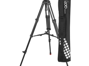 Rent: Sachtler Ace Fluid Head with 2-Stage Tripod