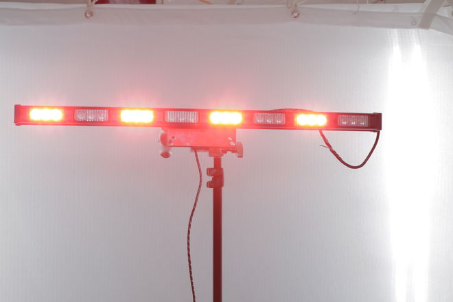 Whelen 8 Light Dominator Series (Red/Blue) adapted for Film