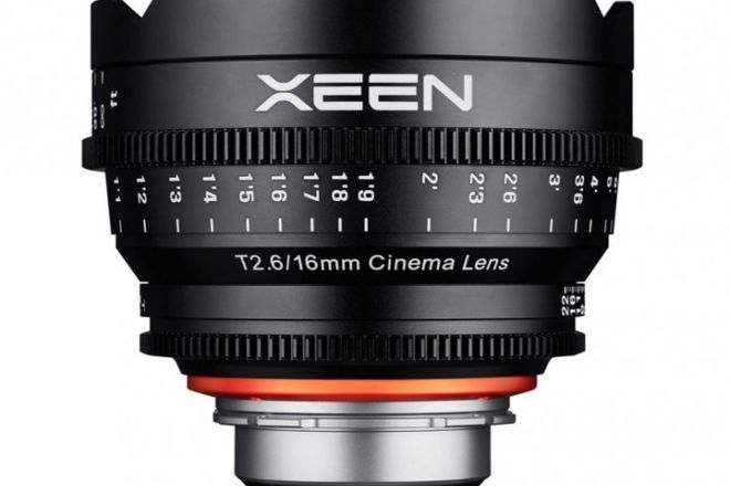 Rokinon Cine Xeen Lens 16mm T2.2