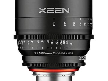 Rokinon Cine Xeen Lens 35mm T1.5