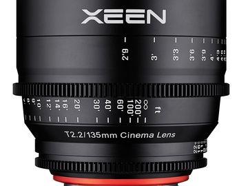 Rokinon Cine Xeen Lens 135mm T2.2