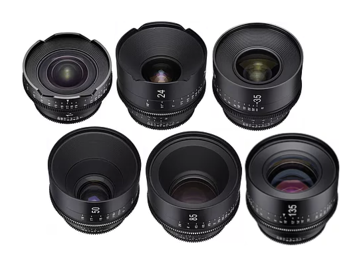 Rokinon Cine Xeen 6 Lens Set, 16-24-35-50-85-135mm