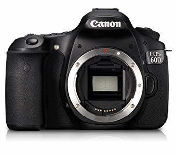 Canon EOS 60D Camera with 3 Lenses